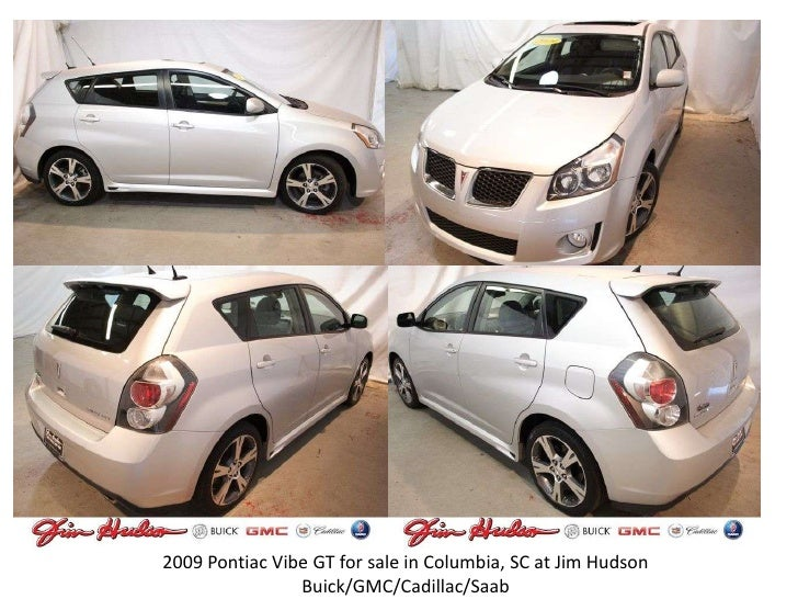 2009 Pontiac Vibe GT for sale in Columbia, SC at Jim Hudson Buick/GMC/Cadillac/Saab<br />