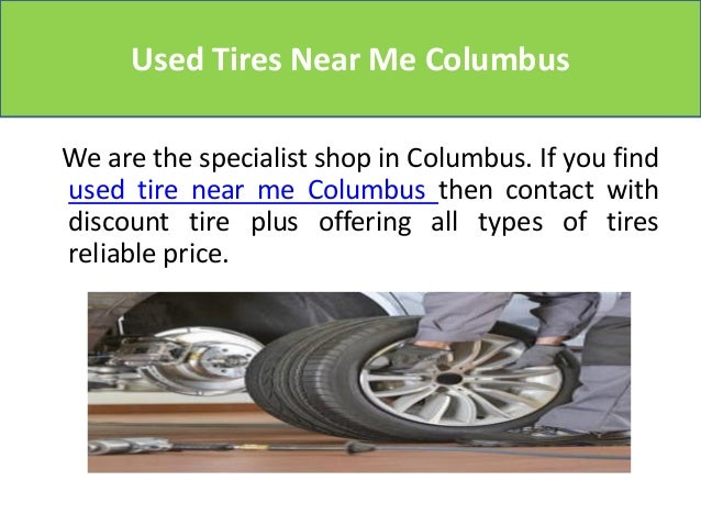 Used tires near me columbus