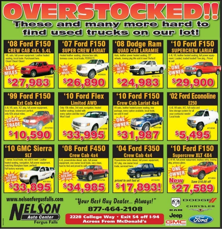 Used Truck Sale Special MN | Used Truck Dealer Near Fargo