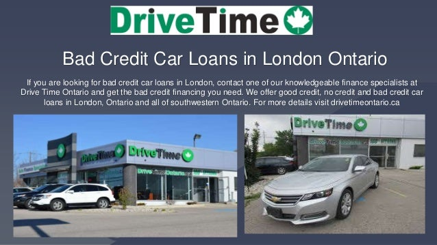 Drive Time Cars >> Used Vehicles London Ontario