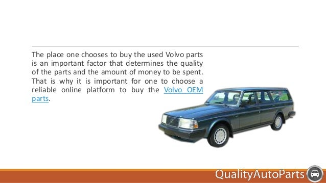 buy used volvo parts at low prices