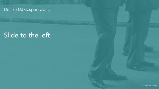"""End with a """"Thank You"""" slide"""