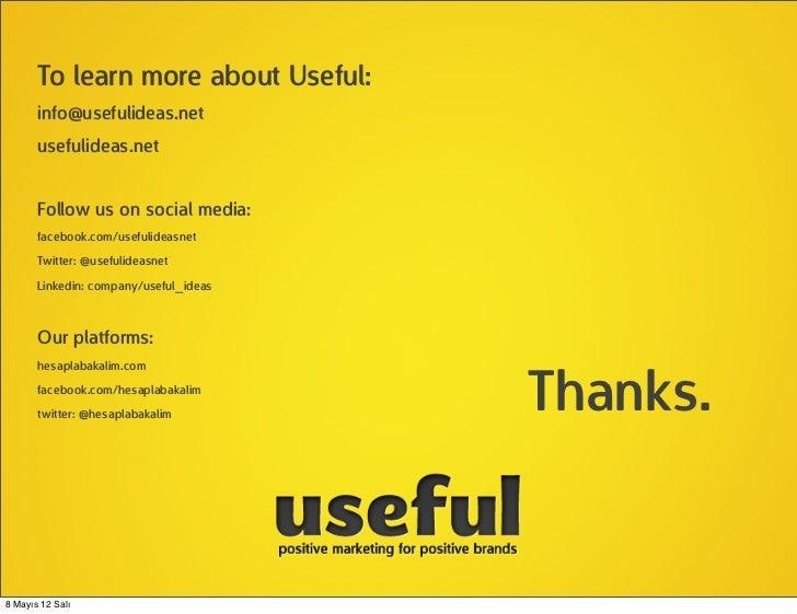 To learn more about Useful:       info@usefulideas.net       usefulideas.net       Follow us on social media:       facebo...