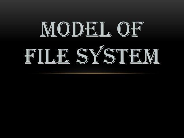 MODEL OFFILE SYSTEM