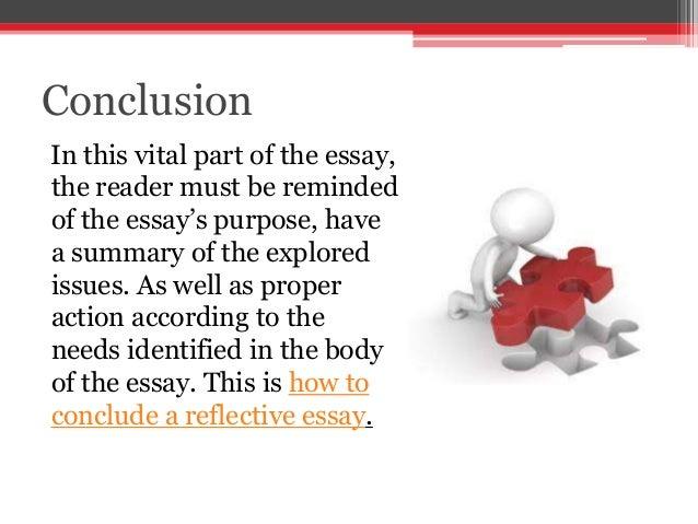 writing reflective essay
