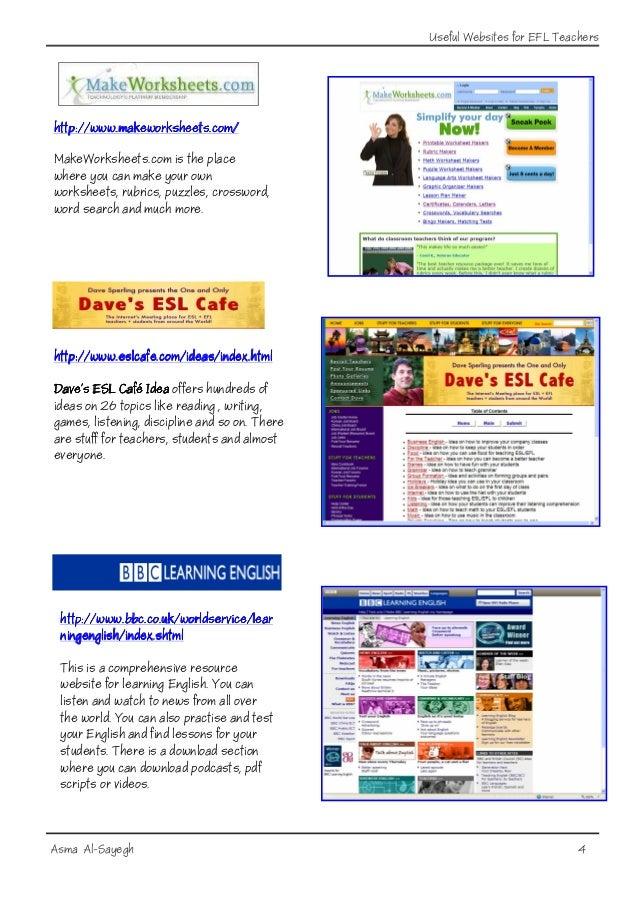 Useful Websites  Useful Websites...