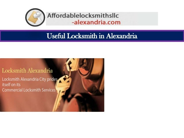 Useful Locksmith in Alexandria