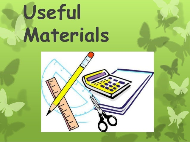 Useful materials ppp for Waste things useful material