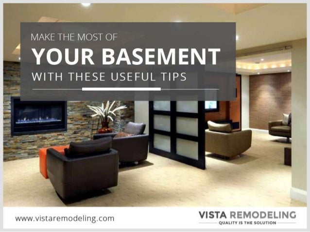 Make the Most of Your Basement with these Useful Tips