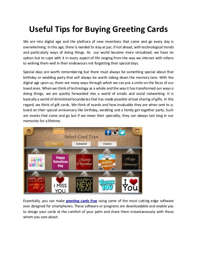 Useful tips for buying greeting cards 1 638gcb1426237962 useful tips for buying greeting cards we are into digital age and the plethora of new m4hsunfo