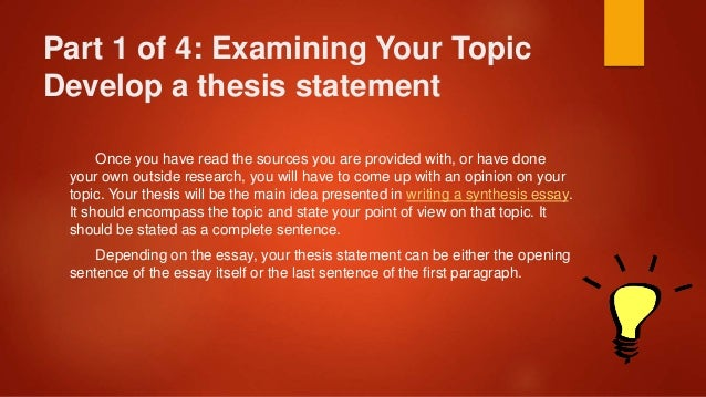 synthesis and analysis work together in writing an essay Understand the concept of a synthesis essay the purpose of a synthesis essay is to make insightful connections between parts of a work, or multiple works, with the goal of ultimately presenting and supporting a claim about a topic.