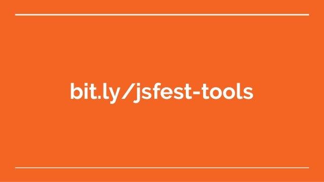JS Fest 2018. Алексей Волков. Полезные инструменты для JS разработки Slide 3