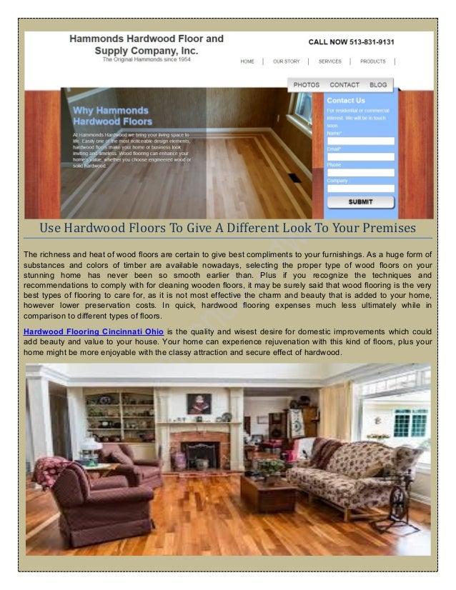 We Provide You Hardwood Floor Commercial Cincinnati