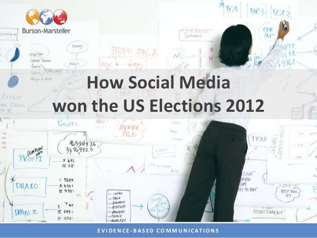 How Social Mediawon the US Elections 2012     E V I D E N C E - B A S E D C O M M U N I C AT I O N S