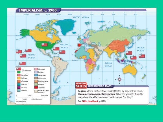 Us Emergence As A World Power - Us latin american intervention maps