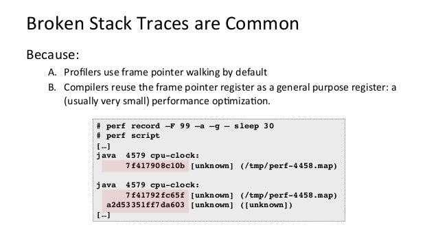 …asaFlameGraph Broken Java stacks (missing frame pointer)