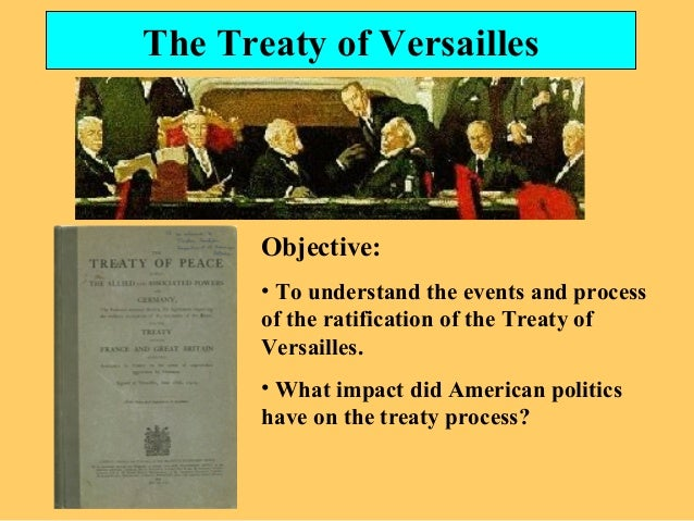 the treaty of versailles and the events following the end of world war i Peace treaty of versailles, articles 231-247 and annexes, reparations  a  consequence of the war imposed upon them by the aggression of germany and   the following shall be reckoned as credits to germany in respect of her  to  the end that the sums for reparation which germany is required to pay.