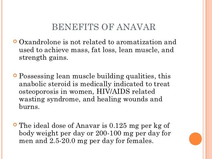 Use of anavar