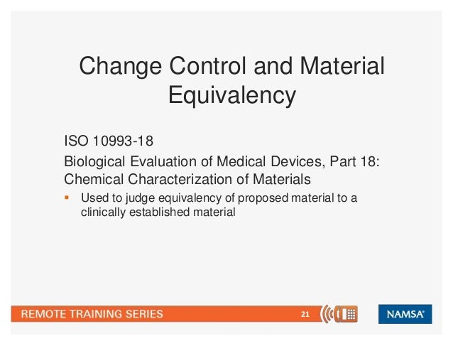 Use of chemical characterization to assess the equivalency for Use of waste material