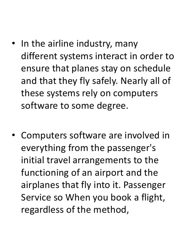 uses of computer in aviation industry