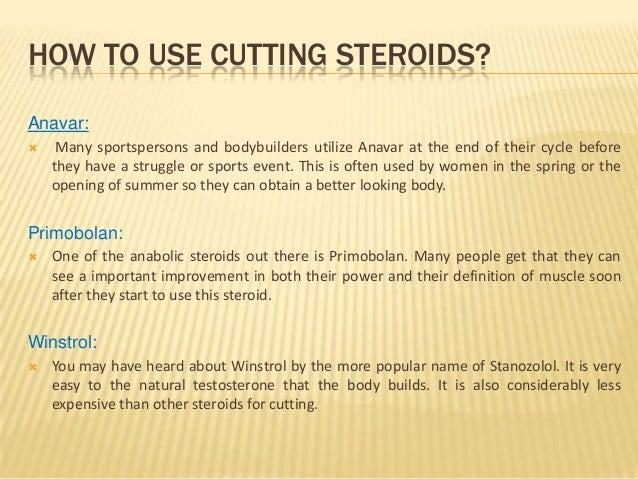 best fat burning steroids cycle
