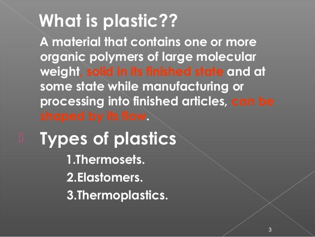 Use of plastic waste in road construction Slide 3