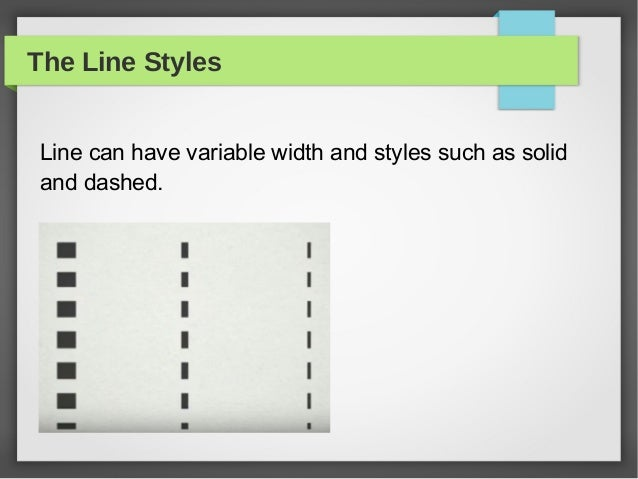 Line Is The Most Basic Element In Graphic Design