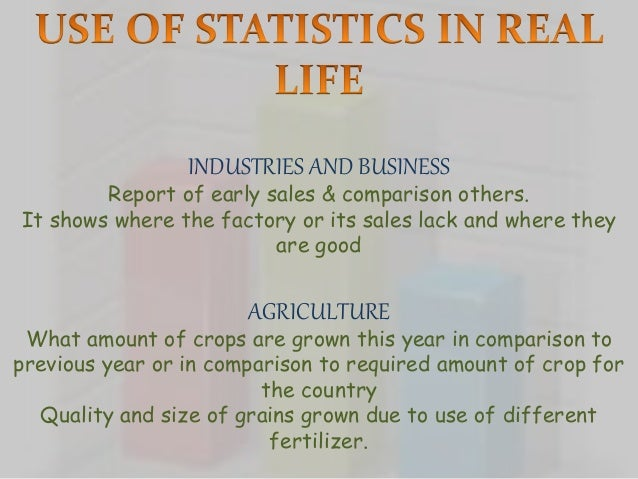 essay on statistics in everyday life