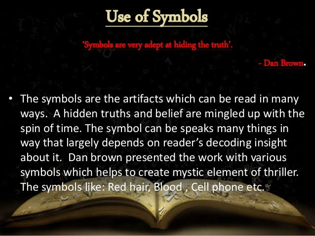 Use of Symbols, Science and Art in The Da Vinci Code Novel ... Da Vinci Symbols