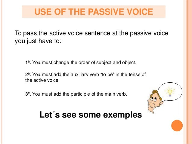 "using active voice in essays When writers use the active voice, their words are direct they use concrete verbs and clearly state the action being performed by the subject in contrast, the passive voice is indirect writers may use weak ""to be"" verbs (is, am, was, were, being, been) or present progressives (e g, is."