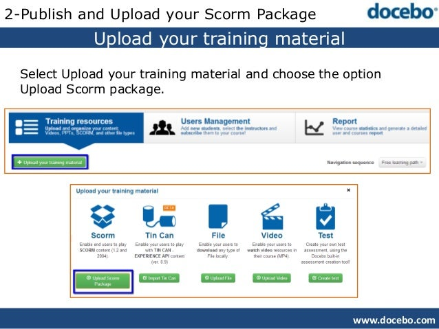 Converting PPT into SCORM with iSpring free