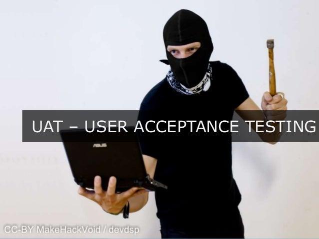 uat testing resume