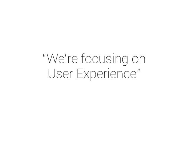 UX is complex.  UX is everywhere.  UX is business.