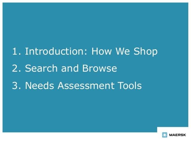 User-Centered Information Architecture for e-commerce Slide 2
