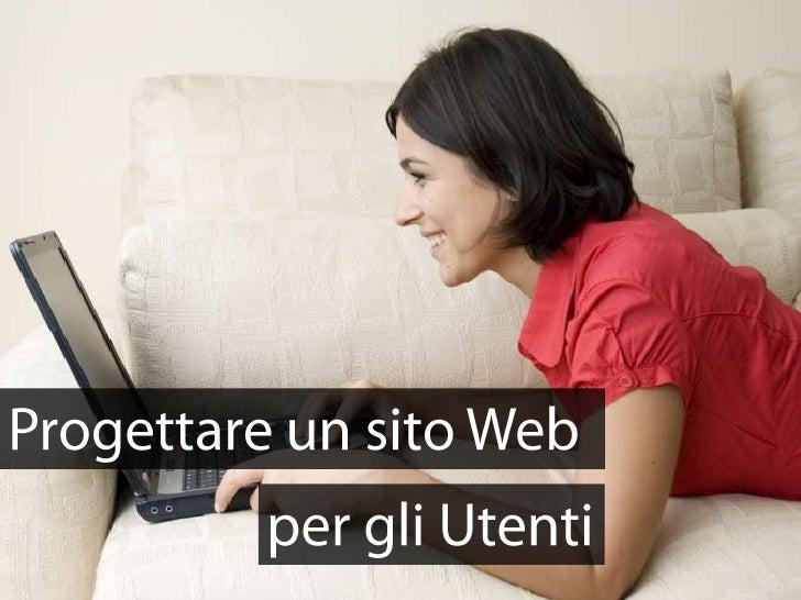 Progettare un sito web per gli utenti