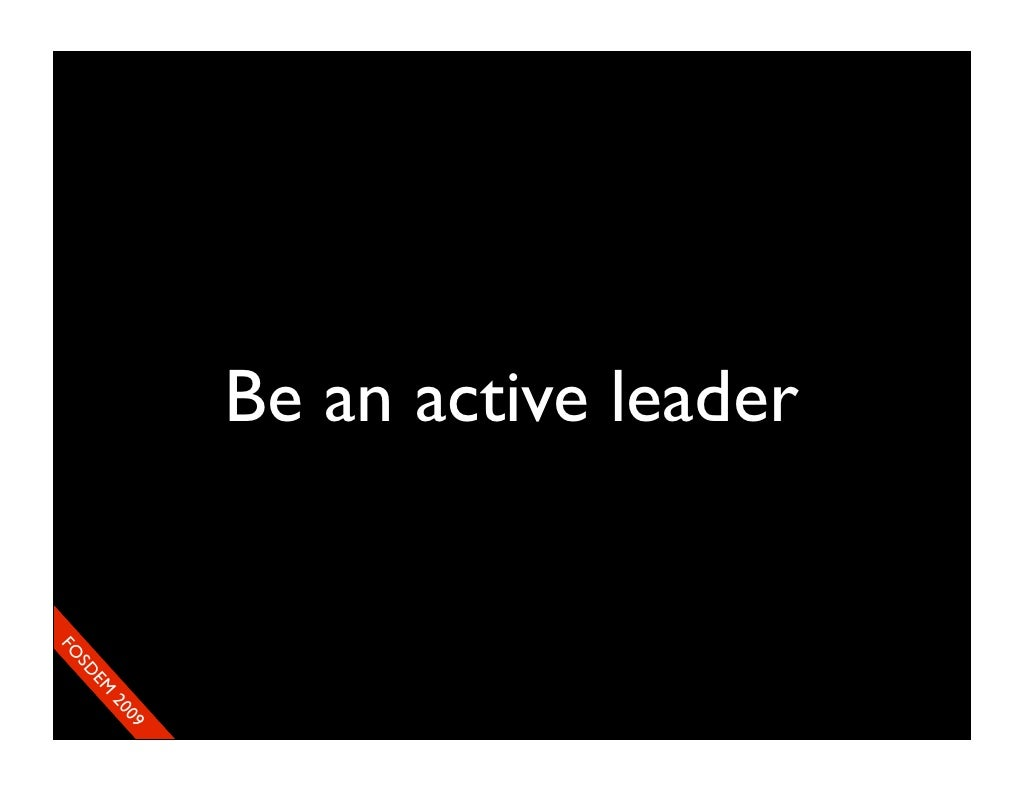 How to Be an Active Leader How to Be an Active Leader new images