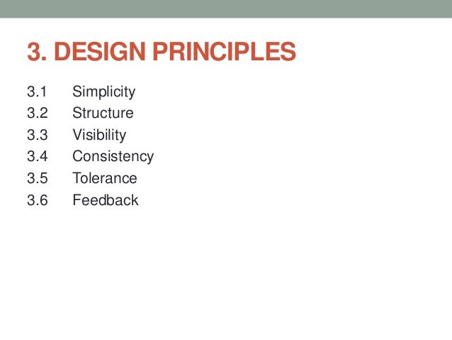 User Interface Design Definitions Processes And Principles