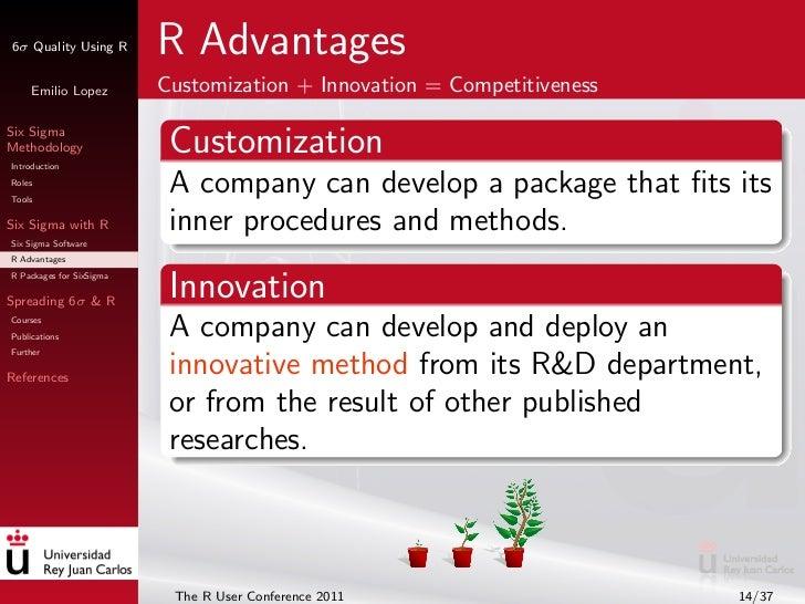 Six Sigma Quality Using R: Tools and Training