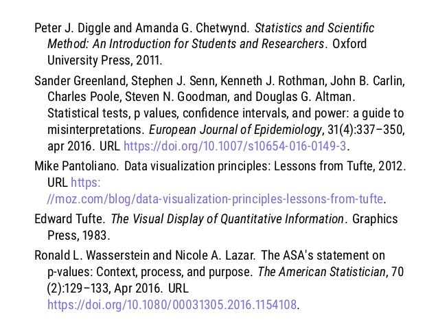 Peter J. Diggle and Amanda G. Chetwynd. Statistics and Scientific Method: An Introduction for Students and Researchers. Oxf...