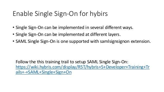 SAP hybris - User Account Management