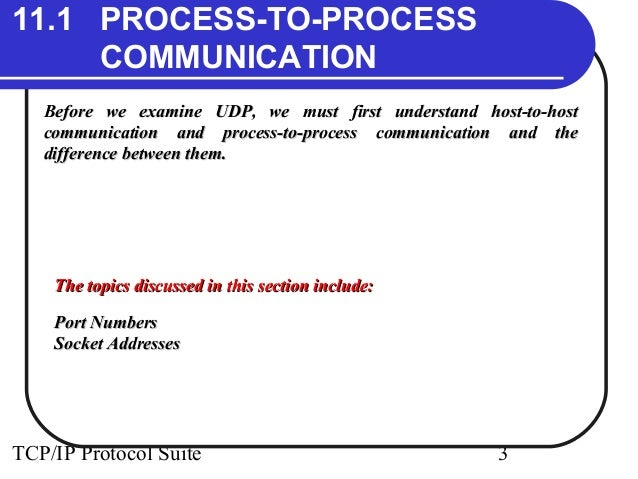 user datagram Abbreviated udp, a connectionless protocol that, like tcp, runs on top of ip networks.