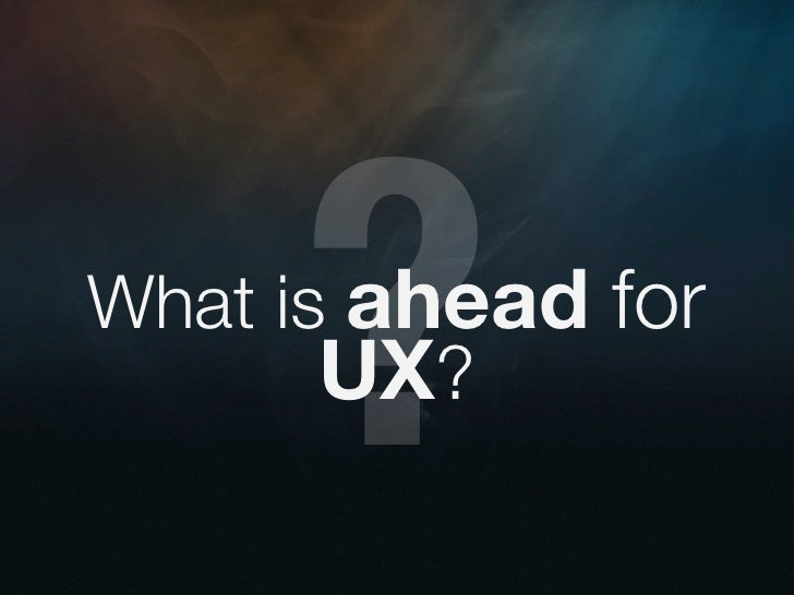 User experience utopia - interact seattle