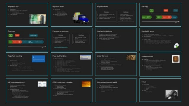 Userfaultfd: Current Features, Limitations and Future Development Slide 2