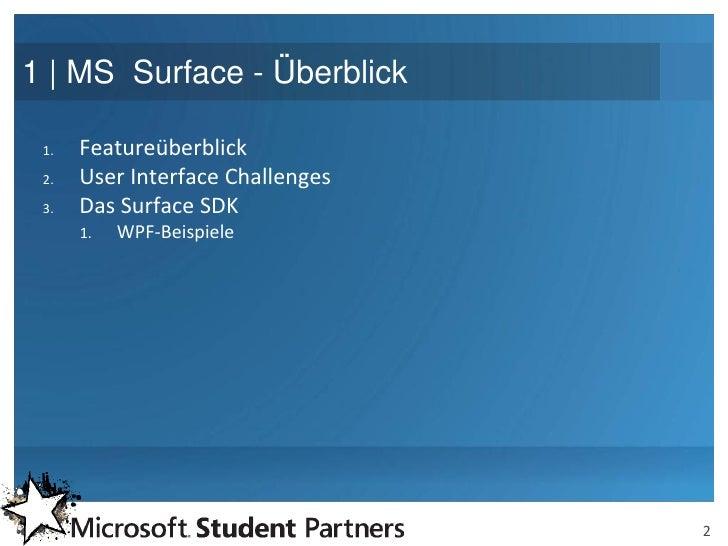 Usergroup 02 Berlin Surface Slide 2