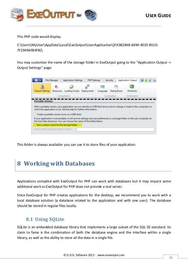 Download exeoutput for php 17 full crack