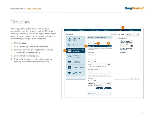 Ring central user guide 2 3c 3e 15 15 ringcentral basic start guide greetings m4hsunfo