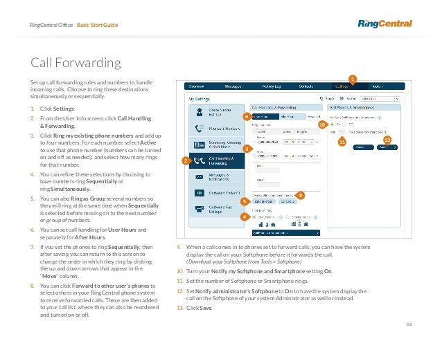 Ring Central User guide