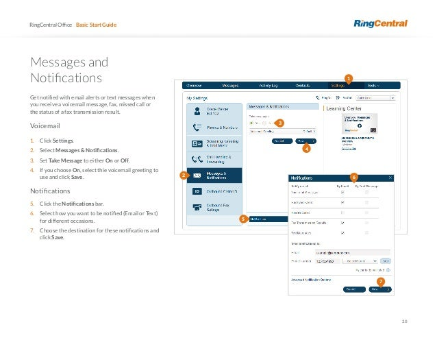 Ring central user guide 20 20 ringcentral m4hsunfo