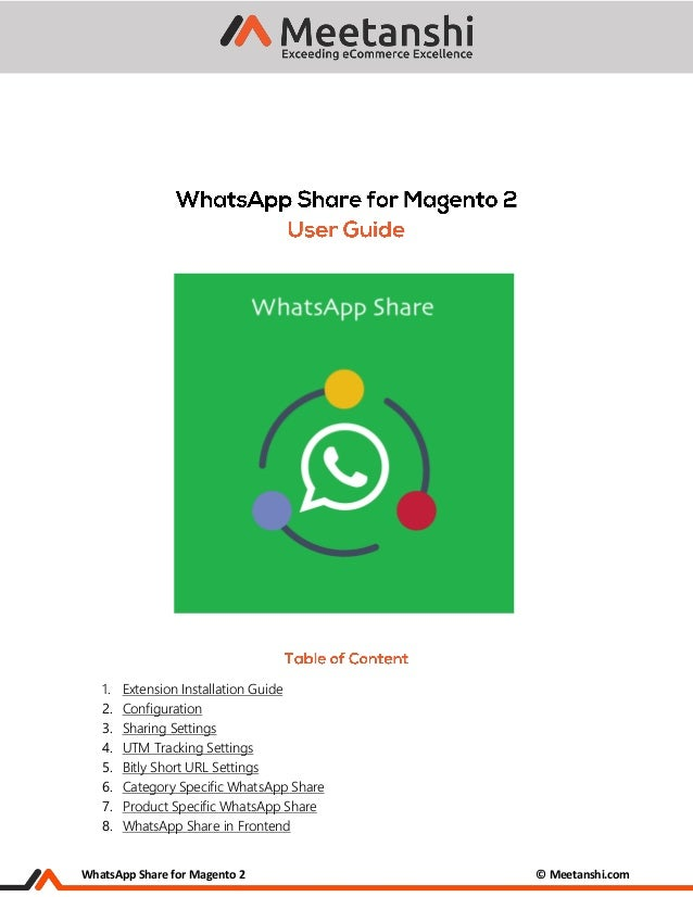 Magento 2 WhatsApp Share