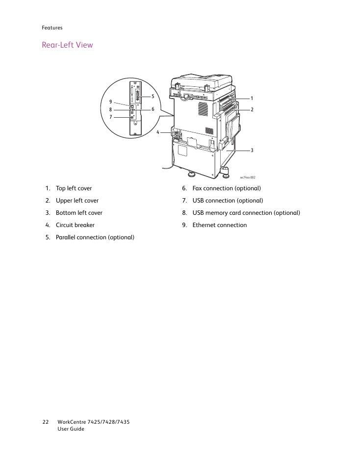 user guide en 7435 rh slideshare net xerox 7435 user manual xerox workcentre 7435 user manual